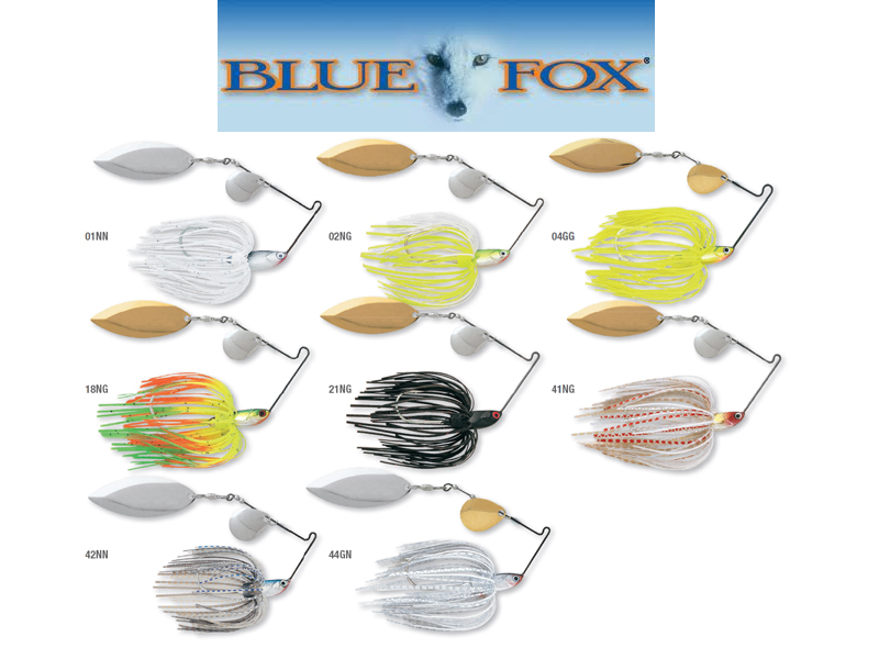 Blue Fox TI-1 Spinner Bait (Size: 1/4, Weight: 7g, Pack: 1, Colour: 04GG)