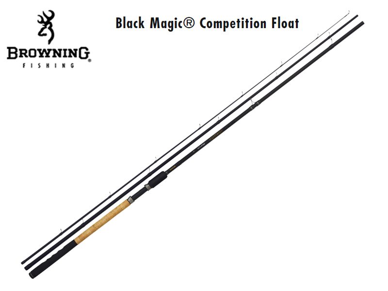 Black Magic® Competition Float(Length: 4.20 m / 14\', Sections: 3, C.W.:20g, Tr.-Length: 1.45m, Weight: 216g)