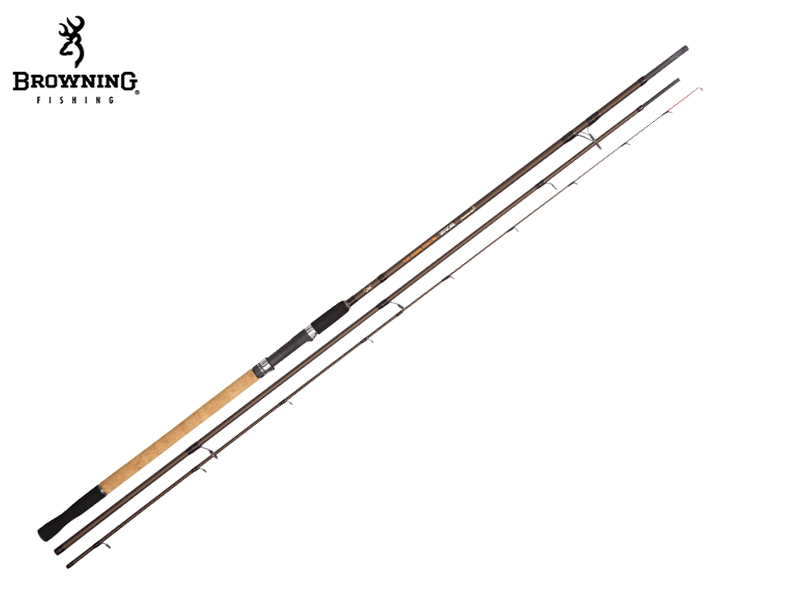 Browning Backfire Method Mania (Length: 3,60m, Sections: 3 C.W.: 80 g, Tr.-Length: 1,27 m, Weight: 187 g)