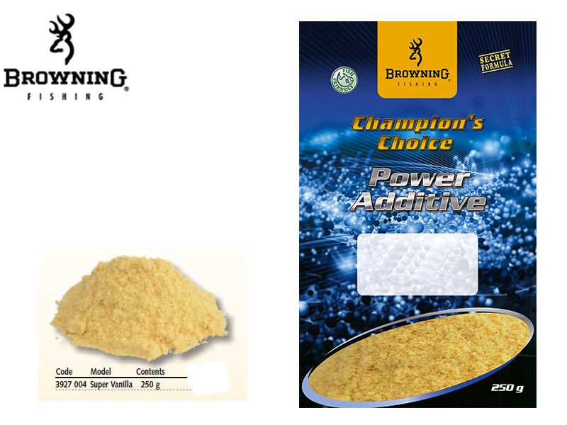 Browning Champion's Choice Power Additive (Super Vanilla, 250g)