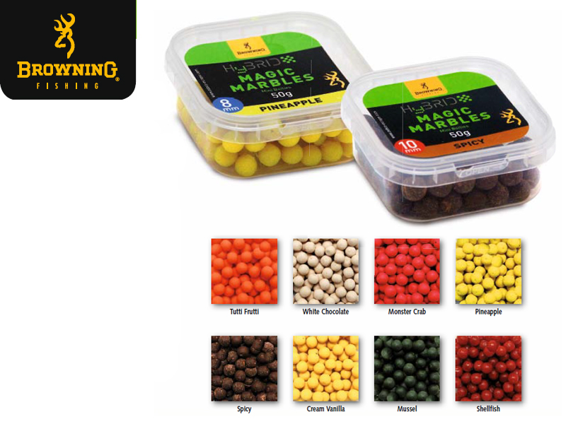 Browning Hybrid Magic Marbles (Type: Pineapple, Size: 10mm, Content: 50g)