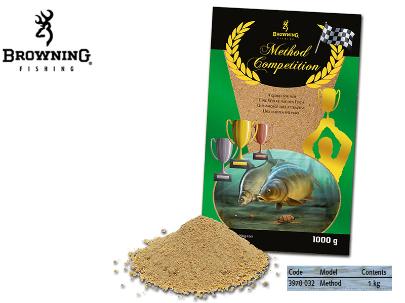 Browning Groundbait Method Competition (1Kg)