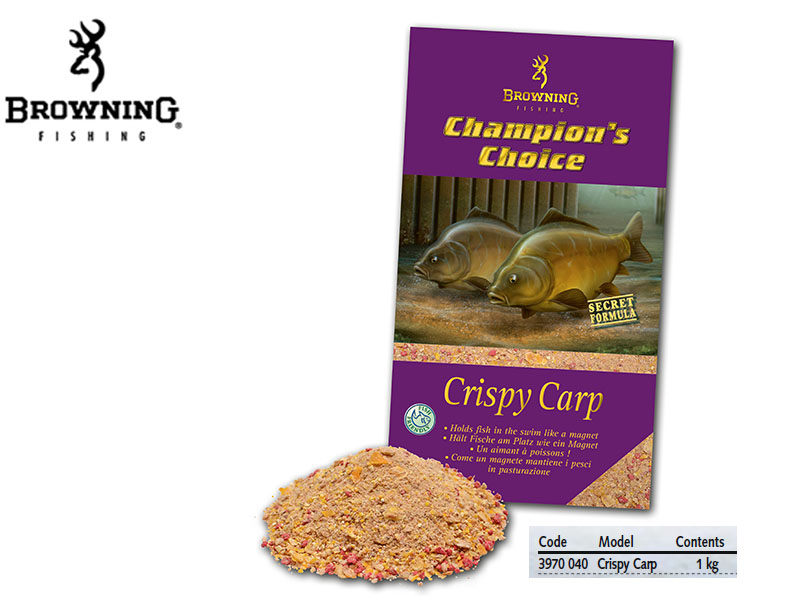 Browning Groundbait Champion\'s Choice Crispy Carp (1Kg)