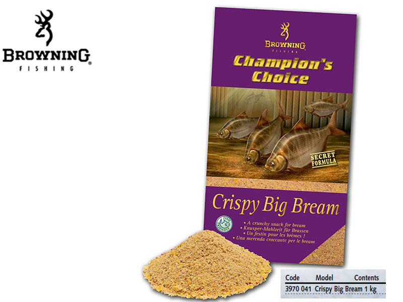 Browning Groundbait Champion's Choice Crispy Big Bream (1Kg)