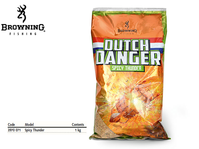 Browning Groundbait Dutch Danger Spicy Thunder (1Kg)