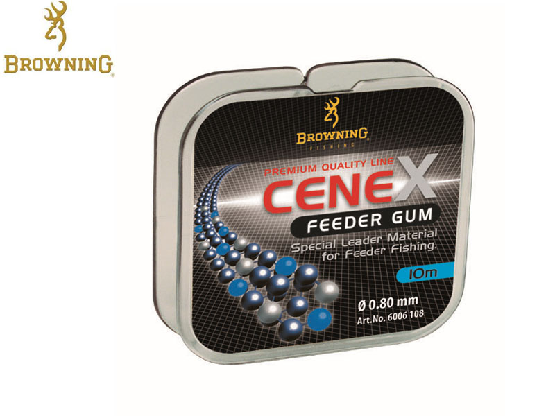 Browning Leader Cenex Feeder Gum (0.80mm. 10mt)