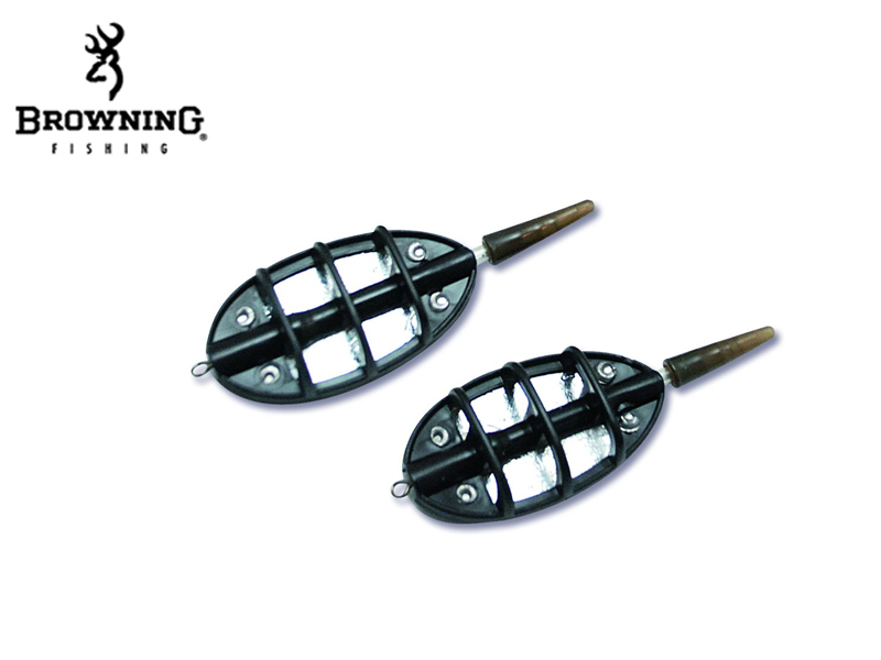 Browning Hybrid Method Feeders(Weight: 20g, Content: 2pcs)