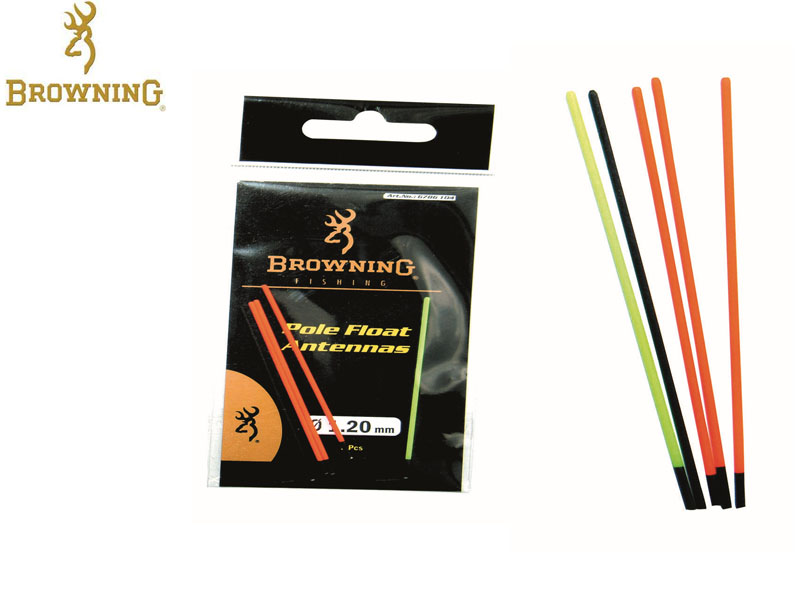Browning Pole floats with interchangeable tips (Length: 1.0mm, 5pcs)
