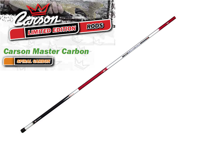 Carson Master Carbon Telescopic Whips (8.00m, Weight: 490gr)