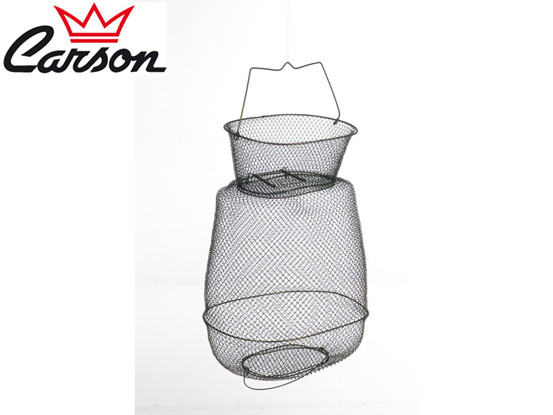 Carson Wire Basket Metal Oval ( ⌀: 40cm, Jercey: 7)
