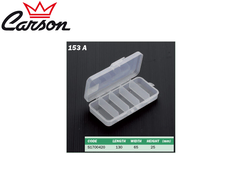 Carson 153 A Tackle Box (L x W x H: 130 x 65 x 25 mm) - clone