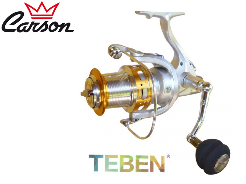 Carson Teben GE-600 Reel (Model: GE, Size: 600, BB: 10, Spool (mm/mt): 024/260, Weight: 680gr, Ratio:4,5:1)