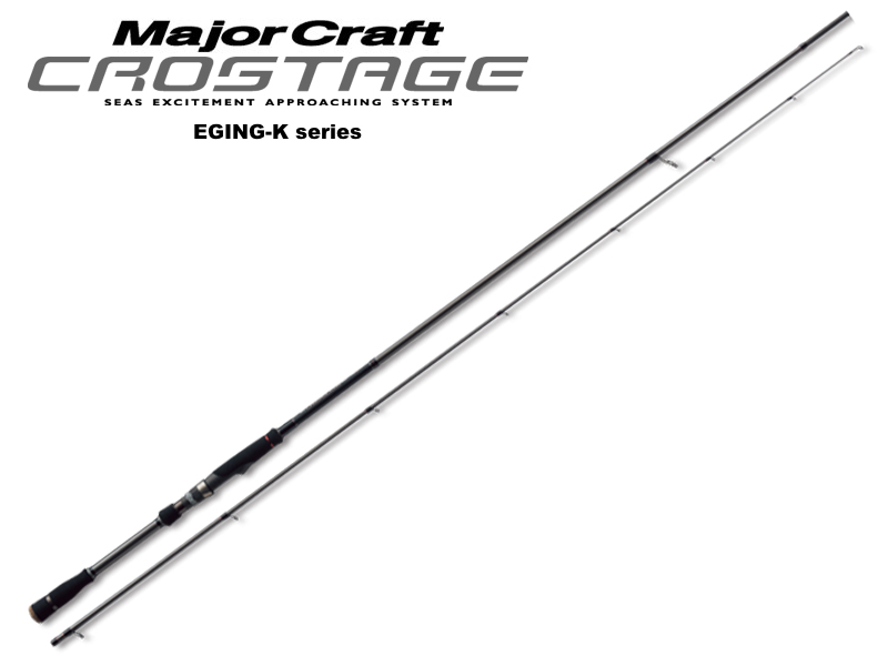MajorCraft Crostage Eging-K Series CRK-832E (Length: 2.53mt, Egi: 2.5-3.5)