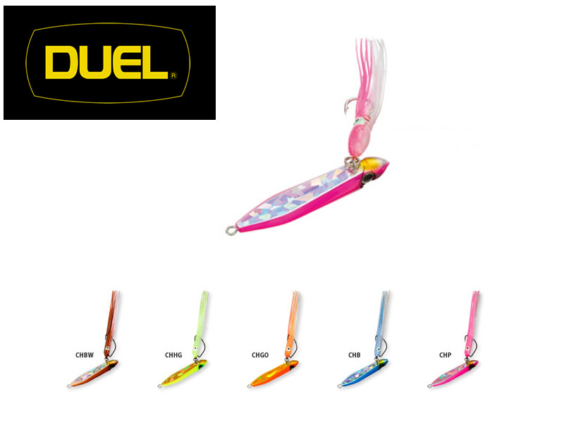 Duel Salty Bait (Weight: 60gr, Single Hook #13, Colour: CHB)