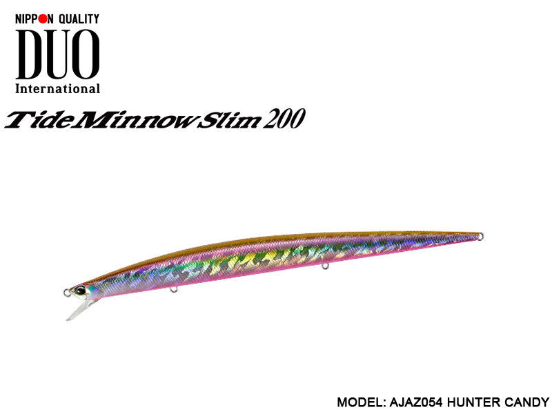 DUO Tide Minnow Slim 200 (Length: 200mm, Weight: 27gr, Color: AJAZ054 Hunter Candy)