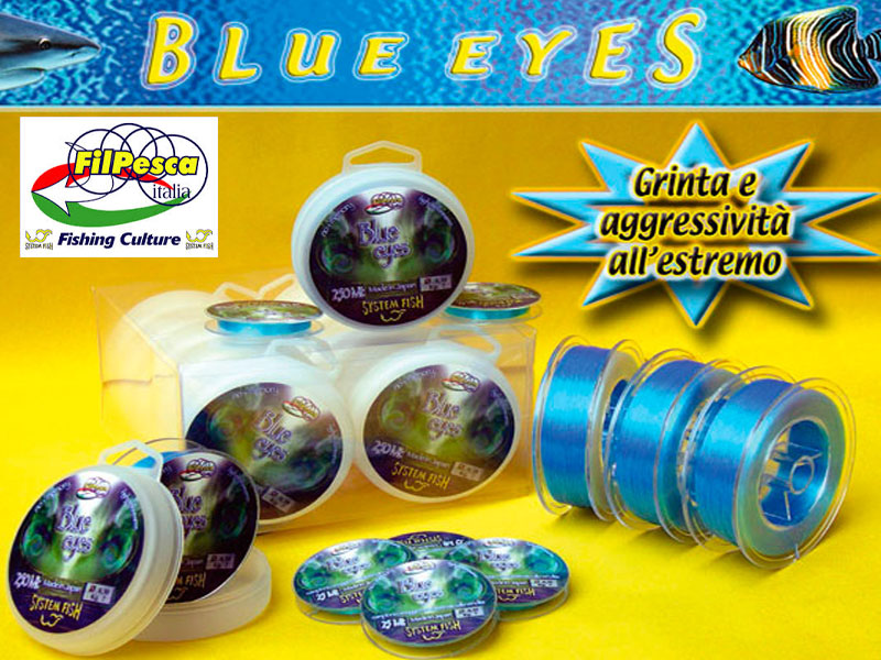 Filpesca Blue Eyes Lines (Size: 0.38mm, Length: 250m)