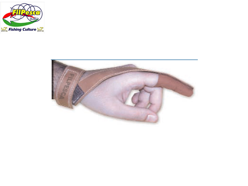 Filpesca Long Cast Leather Safe-Finger