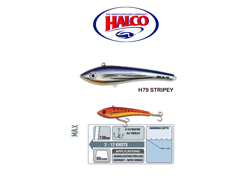 Halco Max 130 (130mm, 80gr, Color: H79)