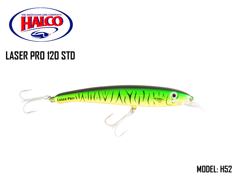 Halco Laser Pro 120 STD (Size: 118mm, Weight: 20gr, Color: H52)