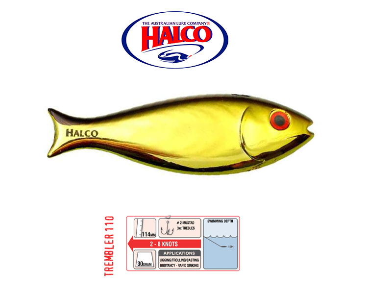 Halco Trembler 110 (114mm, 30gr, Color: H51)