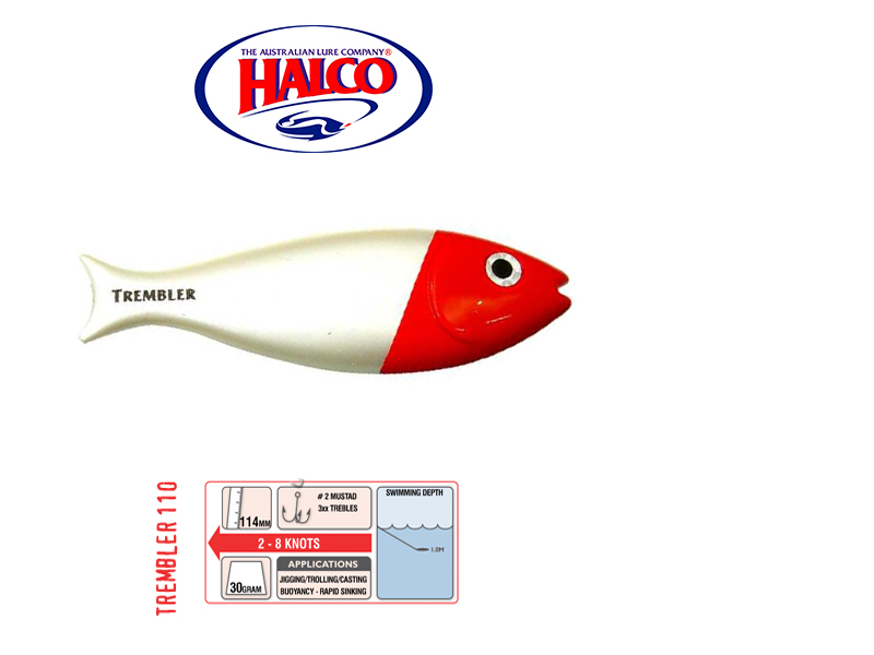Halco Trembler 110 (114mm, 30gr, Color: H53)