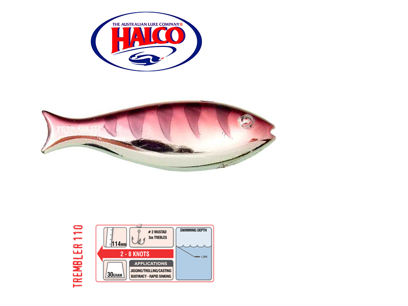 Halco Trembler 110 (114mm, 30gr, Color: R15)