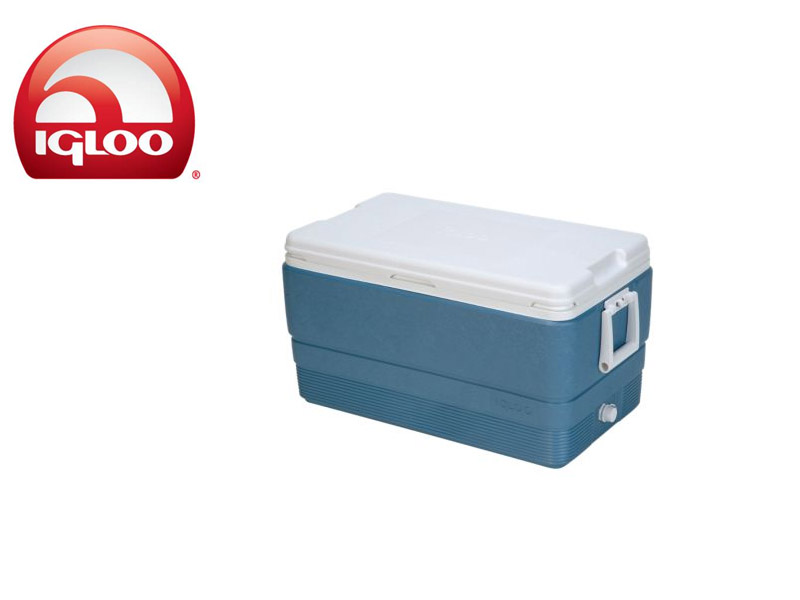 Igloo Cooler Ice Blue MaxCold 70 (Blue, 66 liters)