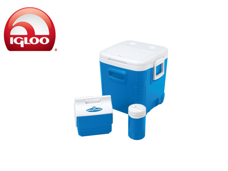 Igloo Cooler Ice Cube 48 Combo (Blue, 45 Liters)