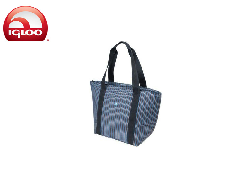 Igloo Best of Blues Shopper Tote 30 (Stripes, 12oz)