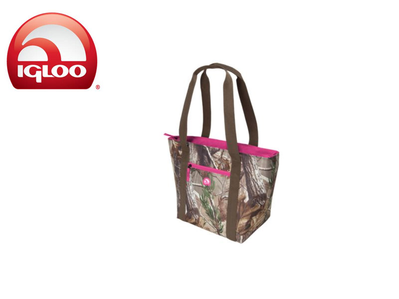 Igloo Shopper Tote 30 - Realtree® Pink