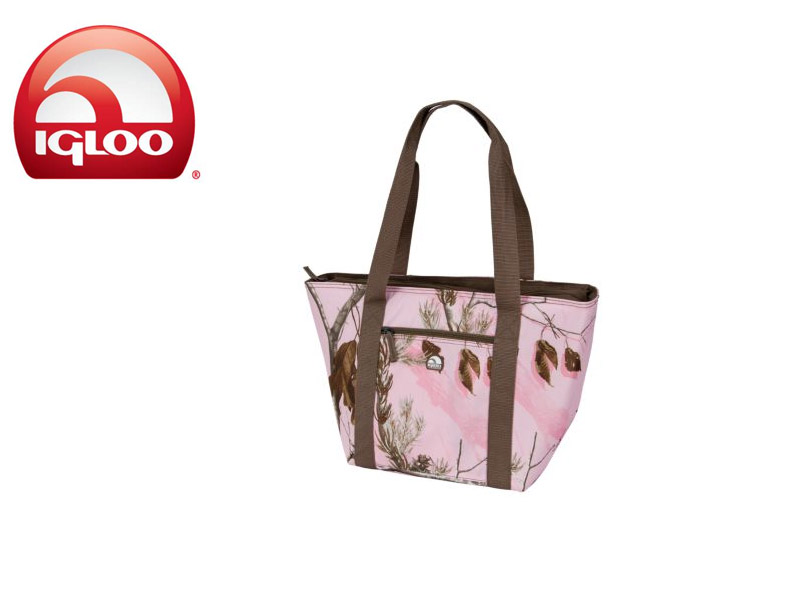 Igloo Cooler Tote 30 - Realtree® (Light Pink, 30 Cans)