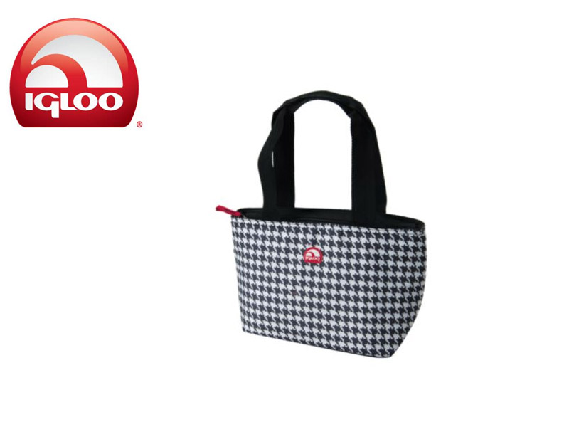 Igloo Cooler Mini Tote 8 (BW, 8 Cans / 7 Liters)
