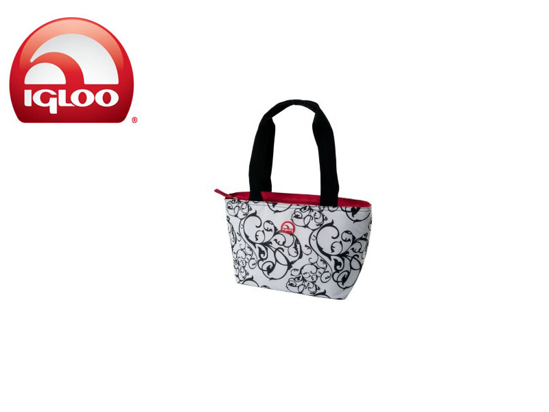 Igloo Cooler Mini Tote 8 (Damask, 8 Cans / 7 Liters)