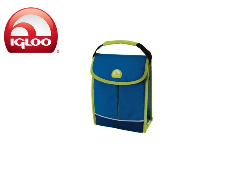 Igloo Cooler Bag It (Green/Blue, 3 Cans)