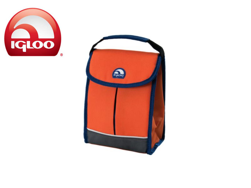 Igloo Cooler Bag It (Orange, 3 Cans)