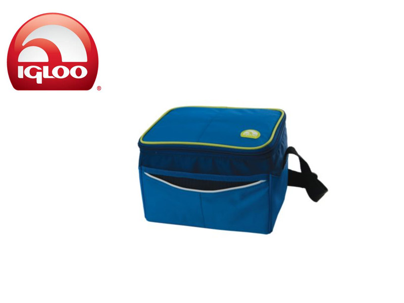 Igloo Cooler Soft 6 (Blue, 6Cans/4 Liters)