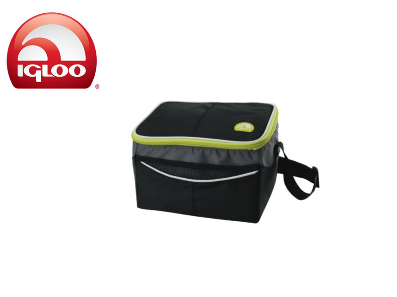 Igloo Cooler Soft 6 (Graphite, 6Cans/4 Liters)