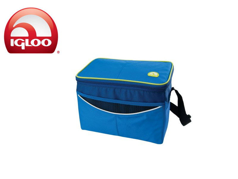 Igloo Cooler Soft 12 (Blue, 12 Cans/8 Liters)