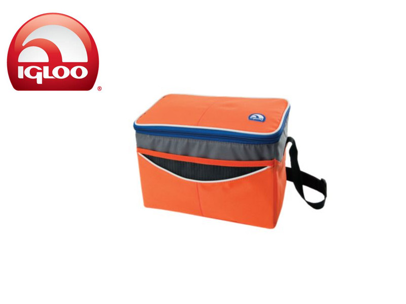Igloo Cooler Soft 12 (Orange, 12 Cans/8 Liters)