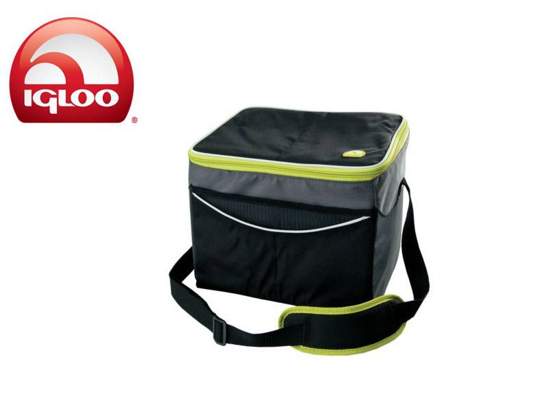 Igloo Cooler Soft 24 (Graphite, 24 Cans)