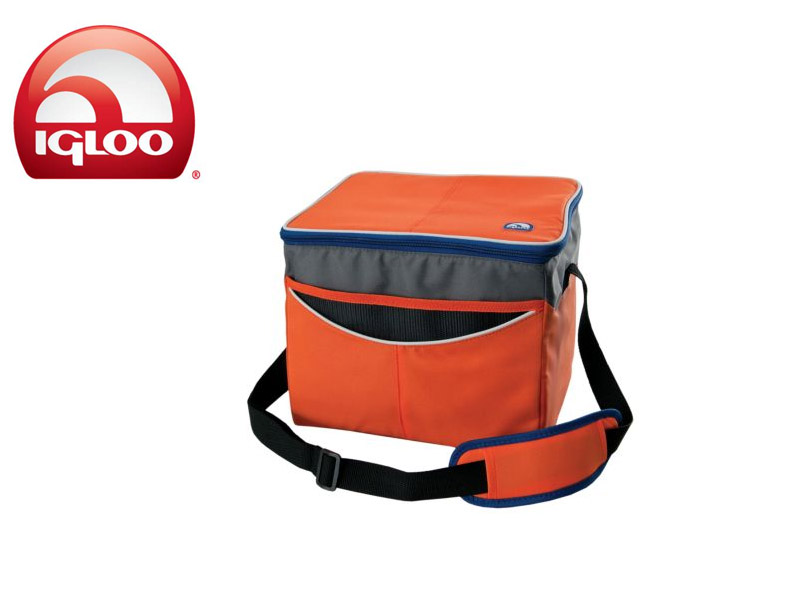 Igloo Cooler Soft 24 (Orange, 24 Cans)
