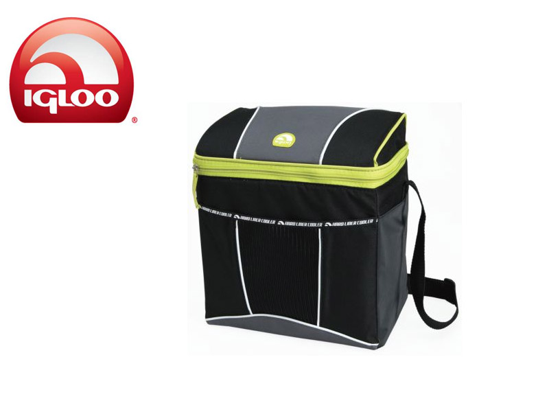 Igloo Cooler Vertical HLC 12 (Graphite/Green, 12 Cans/8 Liters)