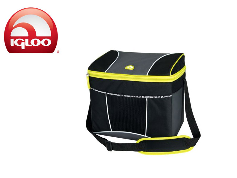 Igloo Cooler Vertical HLC 24 (Graphite/Green, 24 Cans/19 Liters)
