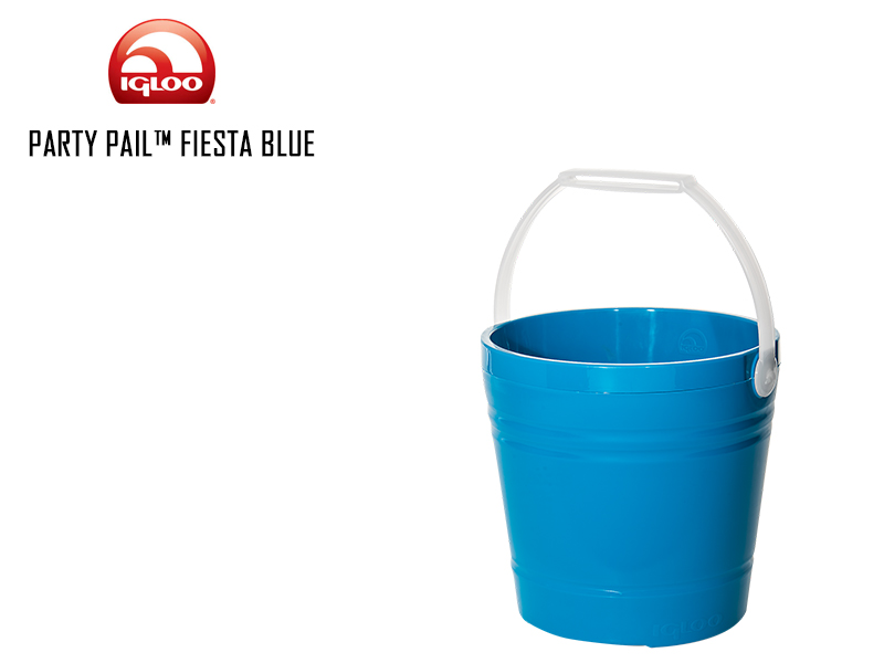 Igloo Party Pail (Color: Fiesta Blue)