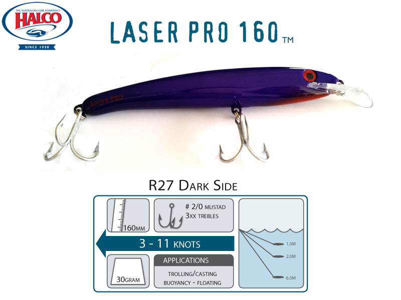 Halco Laser Pro 160 DD (160mm, 30gr, Color: R27)