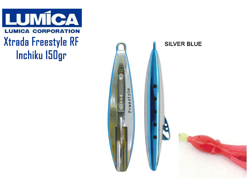 Lumica Xtrada Free Style RF (Weight: 150gr, Color: Blue Silver)