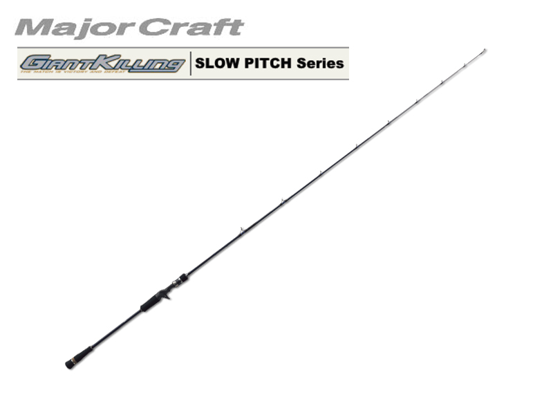 MajorCraft Giant Killing Slow Pitch GKJ-B64/4SP (Length: 1.95mt, Lure: 80-150g)