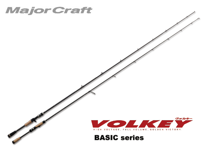 MajorCraft Volkey Basic Baitcasting VKC-702H (Length: 2.13mt, Lure: 3/8-1.1/2 oz)