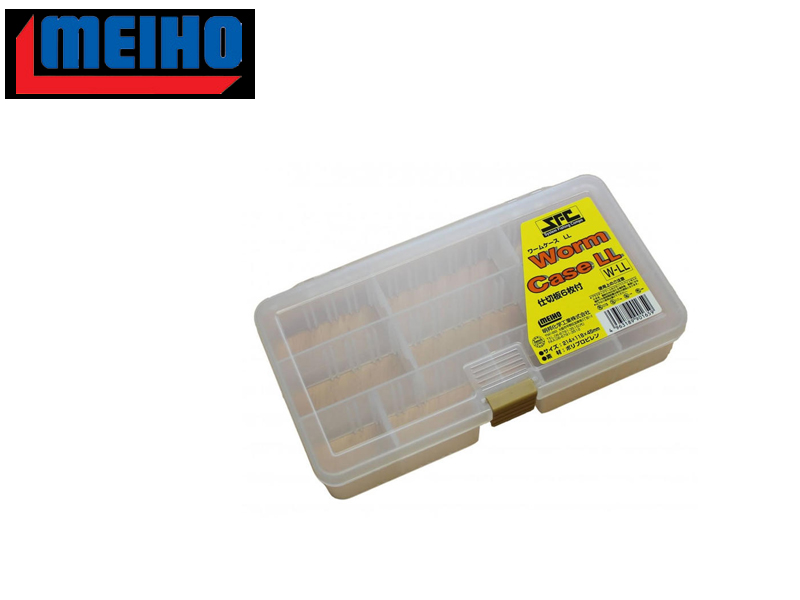 Meiho Worm Case LL(W-LL) (21,4x11,8x4,5cm, Color: Clear)