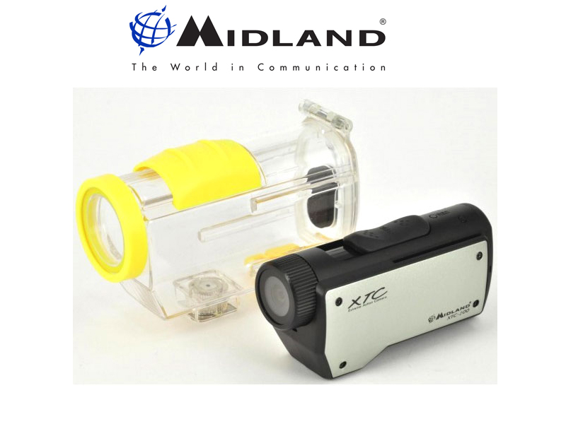 Midland XTC-200 Action Camera W/Housing